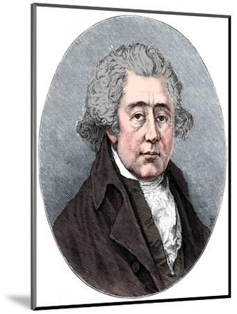 Matthew Boulton, English manufacturer and engineer, c1880-Unknown-Mounted Giclee Print