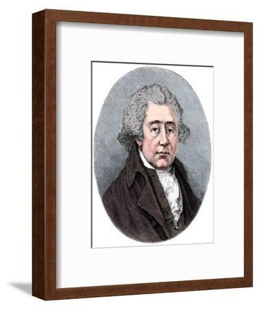 Matthew Boulton, English manufacturer and engineer, c1880-Unknown-Framed Giclee Print