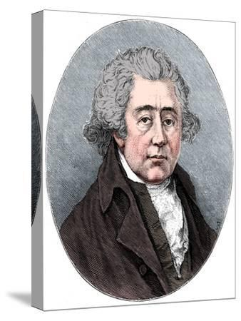Matthew Boulton, English manufacturer and engineer, c1880-Unknown-Stretched Canvas Print