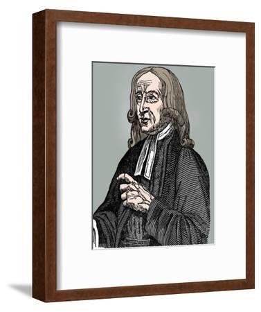 John Wesley, 18th century English non-conformist preacher, 1832-Unknown-Framed Giclee Print