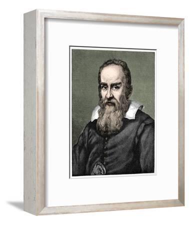 Galileo Galilei (1564-1642), 1882-Unknown-Framed Giclee Print