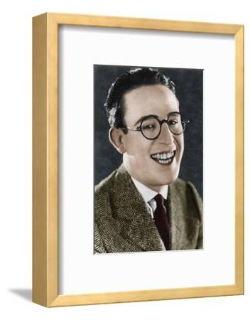 Harold Lloyd (1893-1971), American actor and filmmaker, c1920s-Unknown-Framed Photographic Print