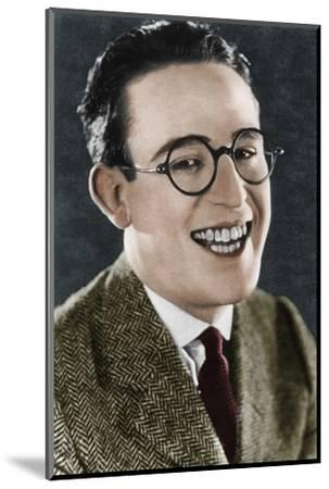 Harold Lloyd (1893-1971), American actor and filmmaker, c1920s-Unknown-Mounted Photographic Print