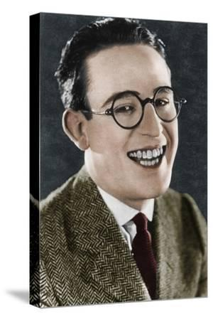 Harold Lloyd (1893-1971), American actor and filmmaker, c1920s-Unknown-Stretched Canvas Print