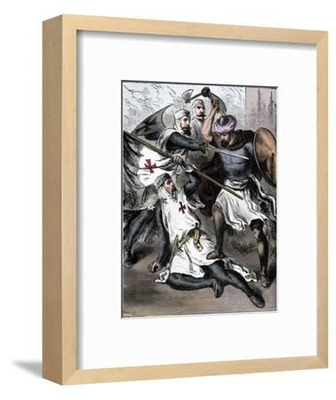 Knights Templar on the Field of Battle, c1910-Unknown-Framed Giclee Print
