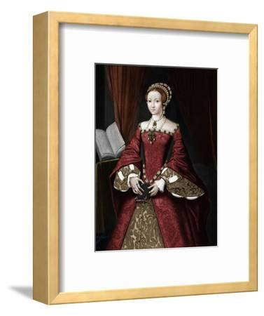 Princess Elizabeth, later Queen', c1547, (1902)-Unknown-Framed Giclee Print