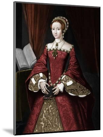 Princess Elizabeth, later Queen', c1547, (1902)-Unknown-Mounted Giclee Print