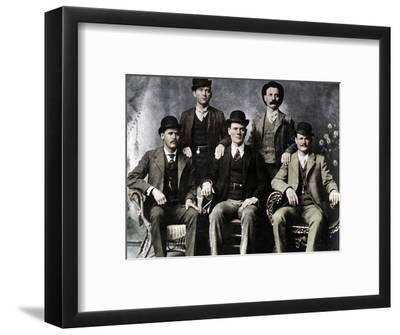 The Wild Bunch, American outlaw gang, 1901 (1954)-Unknown-Framed Photographic Print