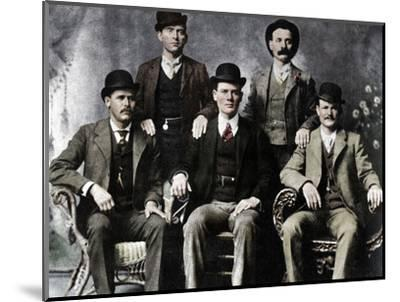The Wild Bunch, American outlaw gang, 1901 (1954)-Unknown-Mounted Photographic Print