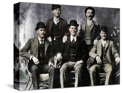 The Wild Bunch, American outlaw gang, 1901 (1954)-Unknown-Stretched Canvas Print