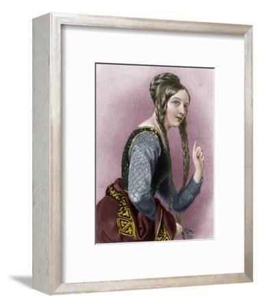 Eleanor of Aquitaine, Queen of Henry II of England-Unknown-Framed Giclee Print