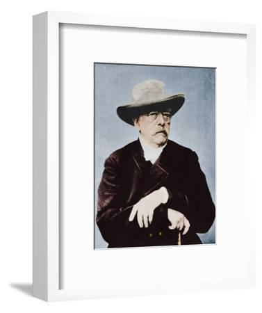 'Otto von Bismarck, German statesman', (1815-1898), 1894-1907-Unknown-Framed Photographic Print