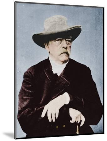 'Otto von Bismarck, German statesman', (1815-1898), 1894-1907-Unknown-Mounted Photographic Print