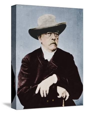 'Otto von Bismarck, German statesman', (1815-1898), 1894-1907-Unknown-Stretched Canvas Print