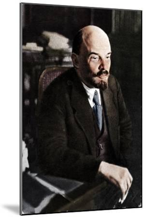 'Vladimir Ilich Lenin, Russian Bolshevik leader, 28th November', 1921-Unknown-Mounted Giclee Print