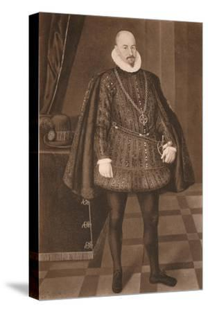 'Count Gondomar', c16th century (1904)-Unknown-Stretched Canvas Print