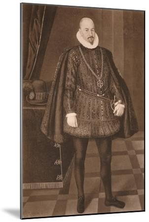 'Count Gondomar', c16th century (1904)-Unknown-Mounted Giclee Print
