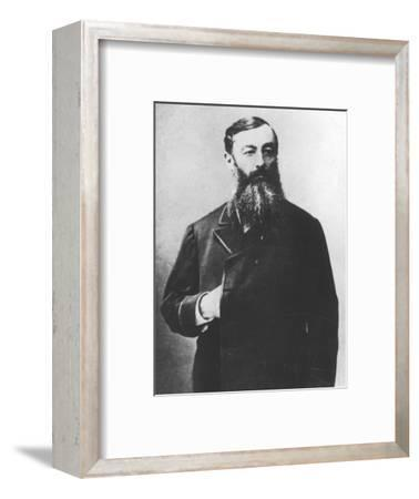 'De Baudry D'Asson', c1893-Unknown-Framed Photographic Print