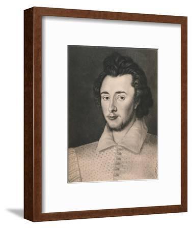 'Sir Thomas Overbury', c16th century, (1904)-Unknown-Framed Giclee Print