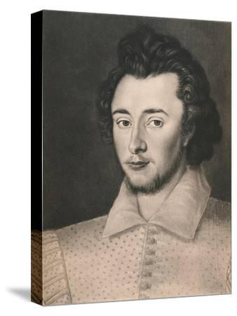 'Sir Thomas Overbury', c16th century, (1904)-Unknown-Stretched Canvas Print