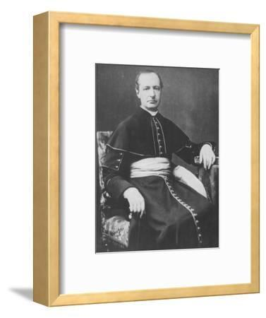 'Monseigneur D'Hulst', c1893-Unknown-Framed Photographic Print