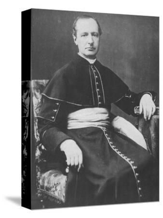 'Monseigneur D'Hulst', c1893-Unknown-Stretched Canvas Print