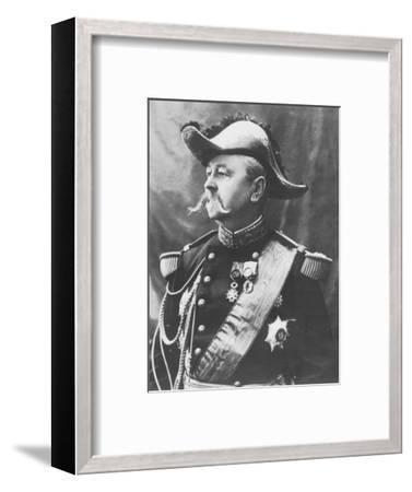 'General Pendezec', c1893-Unknown-Framed Photographic Print