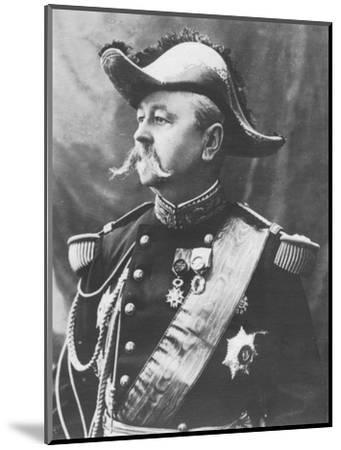 'General Pendezec', c1893-Unknown-Mounted Photographic Print