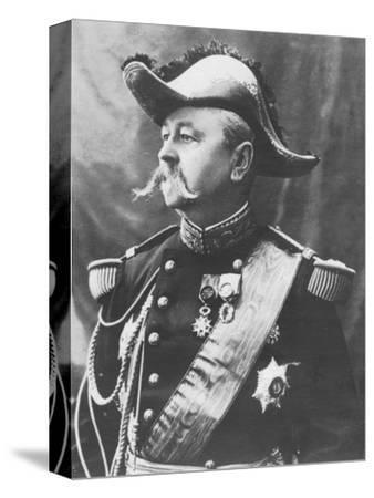'General Pendezec', c1893-Unknown-Stretched Canvas Print