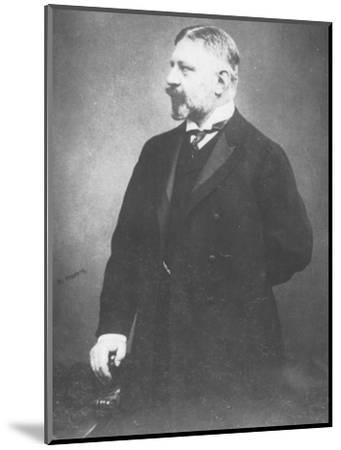 'Docteur De Rosen', c1893-Unknown-Mounted Photographic Print