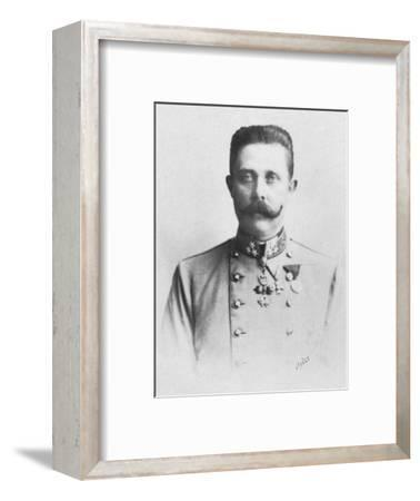 'Francois Ferdinand', c1893-Unknown-Framed Photographic Print