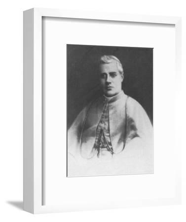 'Pie X', c1893-Unknown-Framed Photographic Print