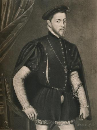 'Philip II of Spain', c16th century, (1904)-Unknown-Framed Giclee Print