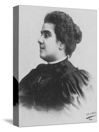 'Mathilde Serao', c1893-Unknown-Stretched Canvas Print
