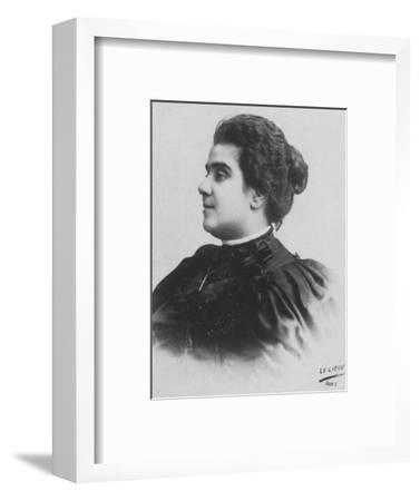 'Mathilde Serao', c1893-Unknown-Framed Photographic Print