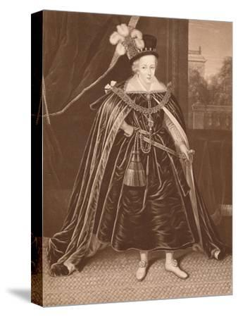 'Prince Charles', c17th century, (1904)-Unknown-Stretched Canvas Print