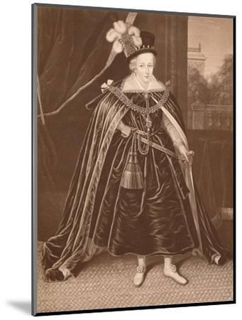 'Prince Charles', c17th century, (1904)-Unknown-Mounted Giclee Print