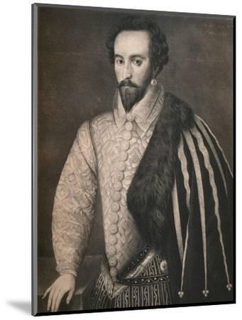 'Sir Walter Raleigh', 1588, (1904)-Unknown-Mounted Giclee Print