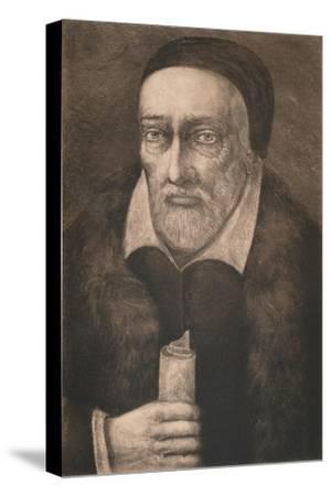 'George Buchanan', c16th century, (1904)-Unknown-Stretched Canvas Print