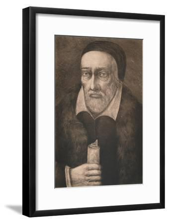 'George Buchanan', c16th century, (1904)-Unknown-Framed Giclee Print