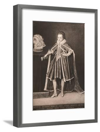 'Henry, Prince of Wales', c16th century, (1904)-Unknown-Framed Giclee Print