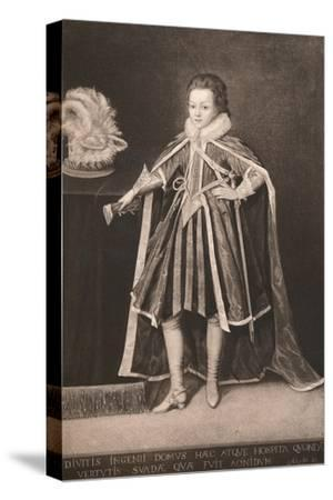'Henry, Prince of Wales', c16th century, (1904)-Unknown-Stretched Canvas Print