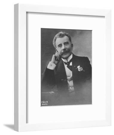 'Champsaur (Felicien)', c1893-Felix Potin-Framed Photographic Print