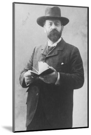 'Emile Moreau', c1893-Unknown-Mounted Photographic Print