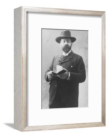 'Emile Moreau', c1893-Unknown-Framed Photographic Print