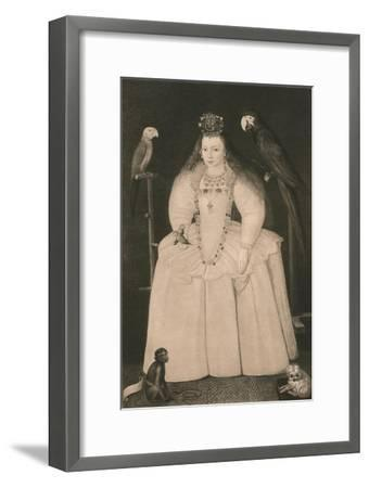 'Arabella Stewart', c16th century, (1904)-Marcus Gheeraerts, the Younger-Framed Giclee Print