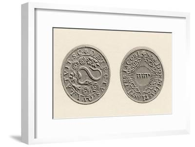 'Medal Commemorating the Discovery of the Gunpowder Plot', 1605, (1904)-Unknown-Framed Giclee Print
