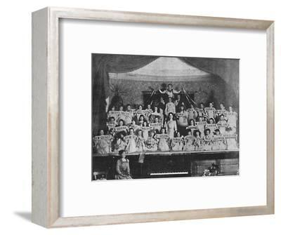 'Children of the Empire', 1900-Unknown-Framed Giclee Print