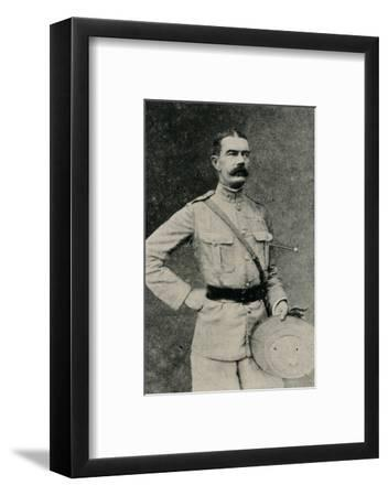 'Major-General Lord Kitchener', 1902-Gabriel Lekegian-Framed Photographic Print