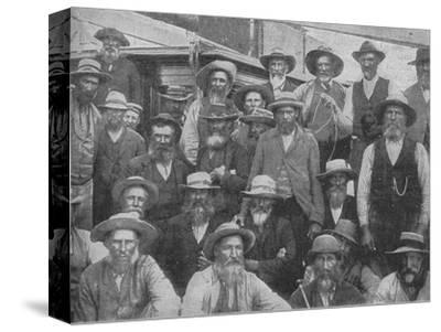 'Some of Cronje's Officers Captured at Paardeberg', c1900, (1902)-Unknown-Stretched Canvas Print